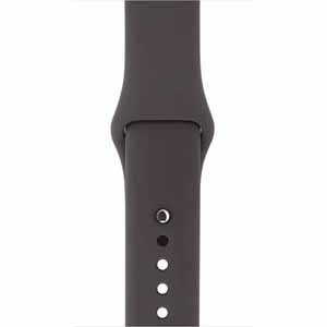 iWATCH Silicon Strap Band 42Mm - Dark Brown (Watch Not Included)