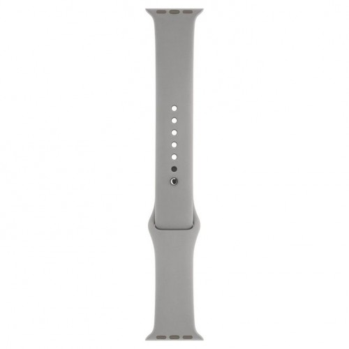 iWATCH Silicon Strap Band 42Mm - Grey (Watch Not Included)